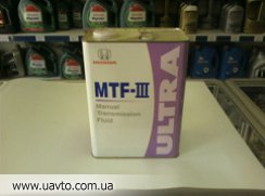 Масло 4 л HONDA MTF-3