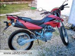 Мотоцикл Honda XR 125 L