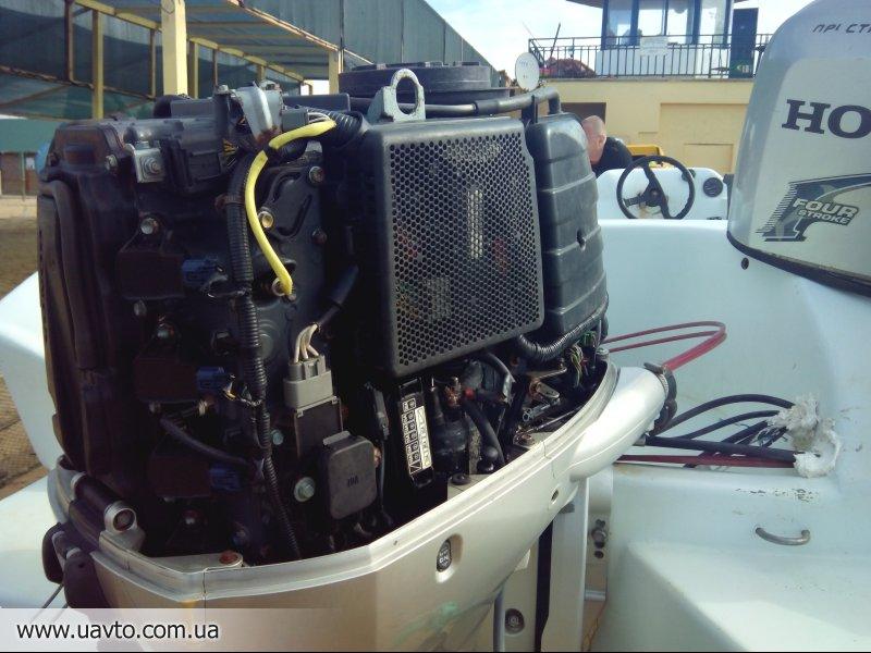 лодочный мотор горит чек