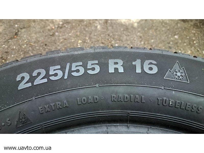 Шины 225/55R16 Continental