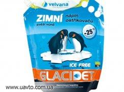 Омывающая жидкость Velvana Glacidet готовый зимний