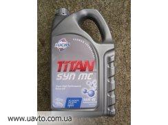 Масло моторное SAE 10W-40 FUCHS Titan полусинтетическое