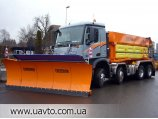 Снегоуборщик mercedes-Benz Axor пескорасбрасыватель 2628 снегоуборочная техника