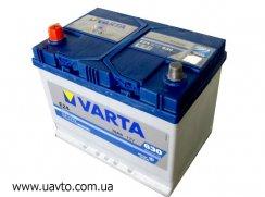 6СТ-70Ач Аккумулятор Varta Blue Asia 630А