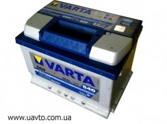 6СТ-60Ач Аккумулятор Varta Blue 540А