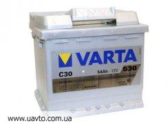 6СТ-54Ач Аккумулятор Varta Silv 530А