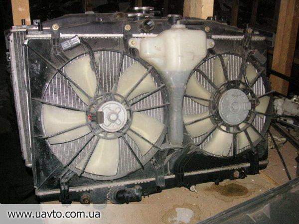 Радиатор  + вентиляторы
