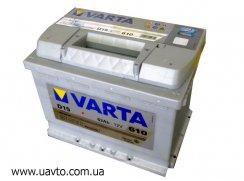 6СТ-63Ач Аккумулятор Varta Silv 610А