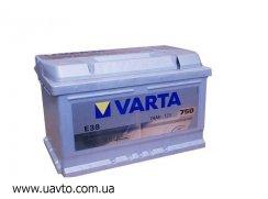 6СТ-74Ач Аккумулятор Varta Silv 750А