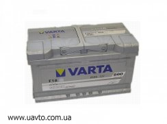 6СТ-85Ач Аккумулятор Varta Silv 800А
