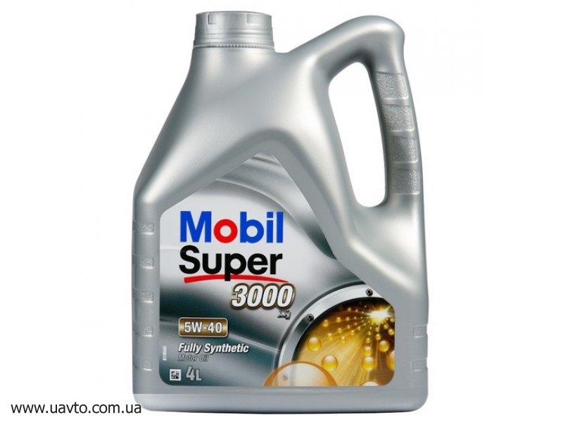 Масло моторное SAE 5W-40 Mobil Oil