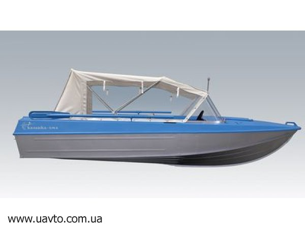 технология покраски лодки казанка 5м4