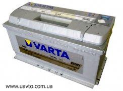 6СТ-100Ач Аккумулятор Varta Silv 830А
