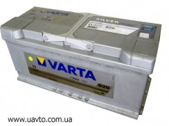 6СТ-110Ач Аккумулятор Varta Silv 920А