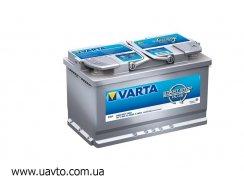 6СТ-80Ач Аккумулятор Varta AGM 800А