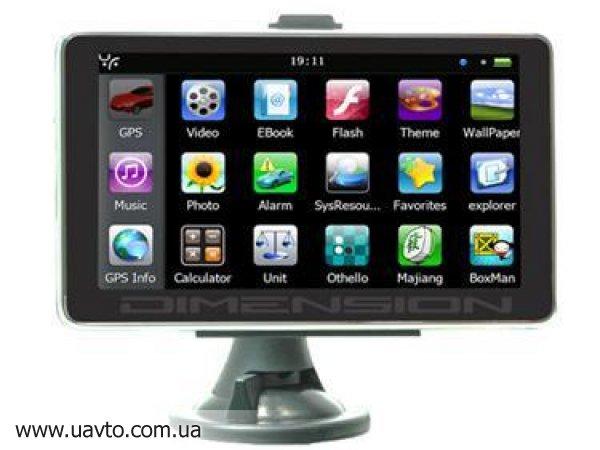 GPS навигатор 6 дюймов LCD