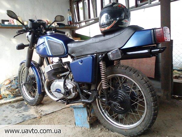 Как сделать мотоцикл юпитер иж