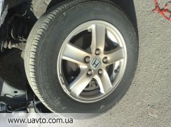 Диски R 15 с резиной  на Honda Accord