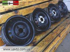 Диски R13 4*100 Daewoo Lanos Штампованные диски R13