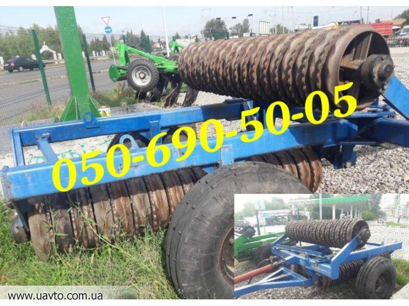 Трактор Кольчато-зубчатый каток КЗК-6-01. Оригинал. Идеальное б/у