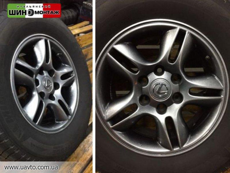 Диски R17 6*139,7 R17 LexusGX470 диски 6*139,7 R17