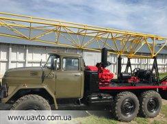 Буровая установка Буровая установка УРБ 2.5 А на базе Зила 131 с инструментом