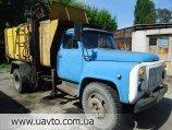 Мусоровоз ГАЗ ГАЗ-53, сміттєвоз-С