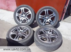 Диски R17  Impreza WRX 03-05