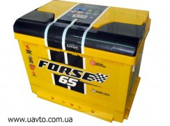 6СТ-65Ач Аккумулятор Forse 640А