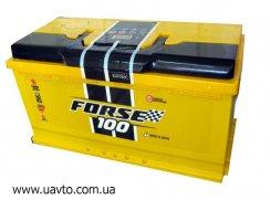6СТ-100Ач Аккумулятор Forse 850А