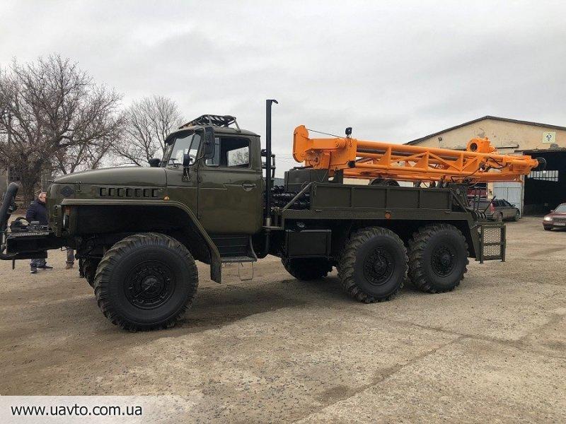 Буровая установка ЛБУ 50 на базе Урала 4320