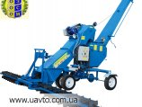 Погрузчик зерна Мощный зернометатель ПЗМ-170