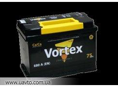 6СТ-75Ач Аккумулятор Vortex 640А