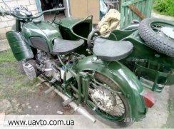 Мотоцикл Днепр(КМЗ) МВ750м
