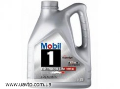 Масло моторное SAE 10W-60  MOBIL 1 Extended (4л.)
