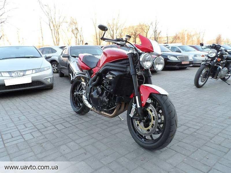 Мотоцикл Triumph Speed Triple SE