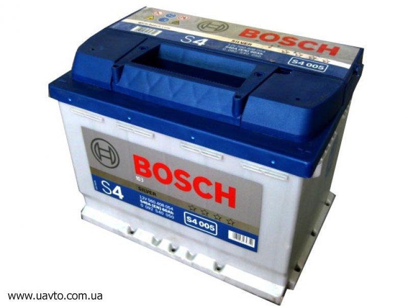 6СТ-60Ач Аккумулятор Bosch S-4 540А