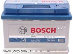 6СТ-74Ач Аккумулятор Bosch S-4 680А