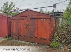 Металлический гараж без места