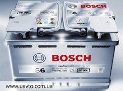 6СТ-70Ач Аккумулятор Bosch S-6 760