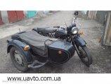 Мотоцикл Днепр-11 с боковой коляской