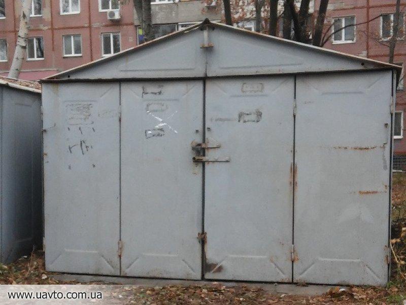 гараж металлический