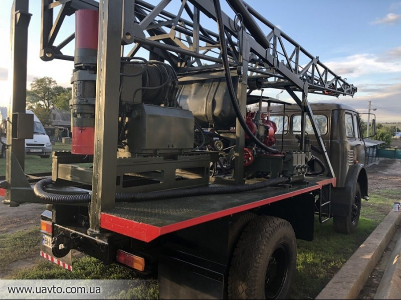 Буровая установка УКБ 500 на базе Маза 500