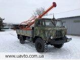 Буровая установка Ямобур БКМ-2,5 на базе Газ 66