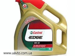 Масло   Castrol Edge 0w-40 (4л)