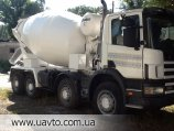 Бетономешалка Scania 114 8x4