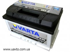 6СТ-70Ач Аккумулятор VartaBlack 640А