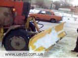 Лопата снегоуборочная  навесная на трактор