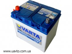 6СТ-60Ач Аккумулятор Varta Blue Asia 540А