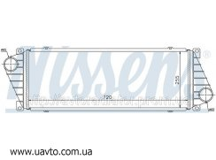 Интеркулер MERCEDES   SPRINTER W 901-905 95- Мерседес Спринтер 210D